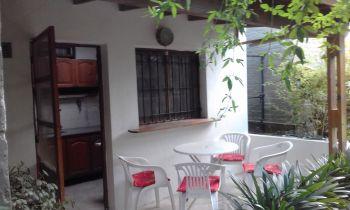 Departamento en Alquiler en Valeria del Mar: Nicolas Jorge 347 entre Azopardo y Espora (código postal 7167)